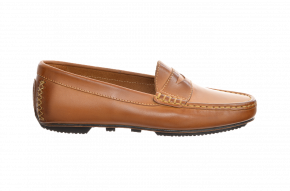 Carvela 321 Leather Penny Moccasin