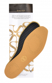 Spitz Leather Insoles (pair Pack)