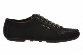 Carvela 975 Suede Lace-Up Moccasin
