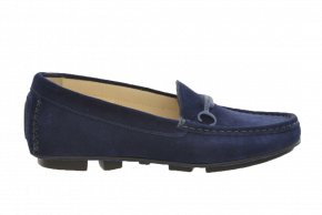 Carvela 5 Step Trim Suede Moccasin