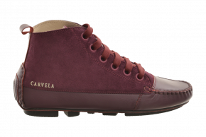 Carvela 5 Step Suede/Leather Boot Moccasin