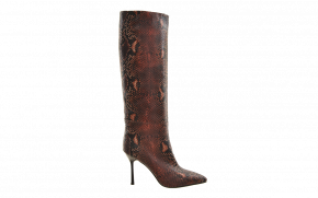Kurt Geiger Pointy Exotic Long Boot