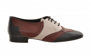 Kurt Geiger Tri-Colour Brogue Lace-Up