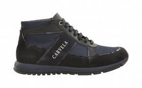 Carvela Weekend Mid-Cut Lace-Up Athletic Sneaker