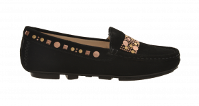 Carvela 5 Step Premium Sequin Moccasin
