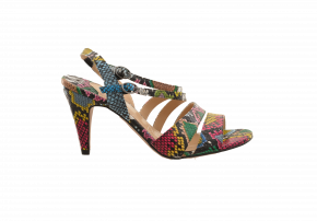 J Renee Multi-Strap Heeled Sandal