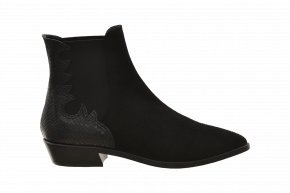 AGL Mid-Heel Ankle Bootie