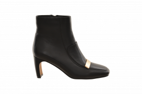 Saffron Browne Gold Trim Ankle Boot