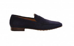 Tosoni Suede Penny Loafers