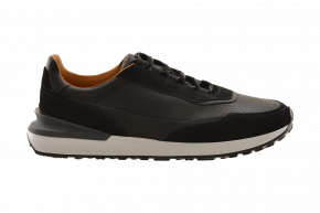 Magnanni Suede/Leather Athletic Sneaker